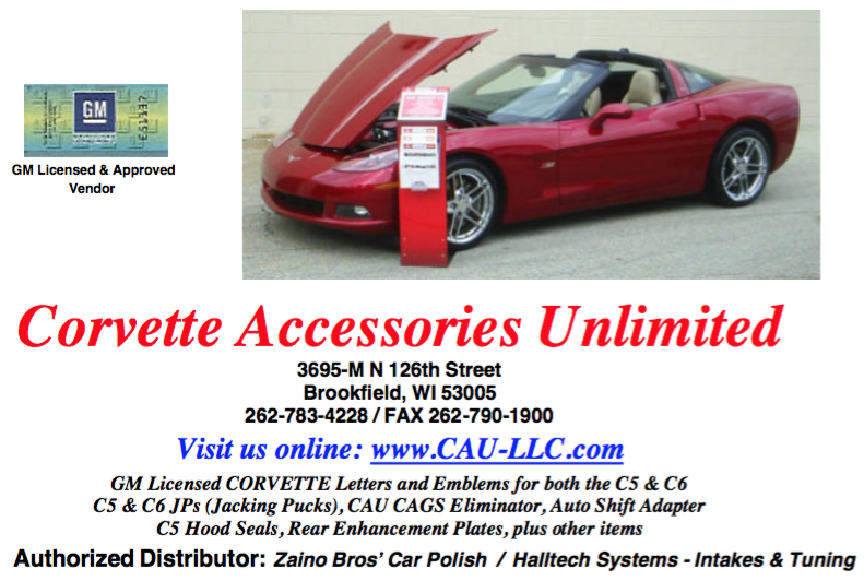 Corvette Accessories Unlimited, LLC